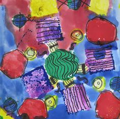 Princess Artypants: Visual Arts in the PYP: Completed Grade 1 Radial Designs