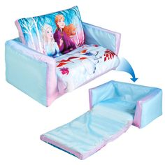 Frozen Disney Flip Out Mini 2 in 1 Kids Inflatable Sofa and Lounger, Blue Toy Cars For Kids, Toys For Girls, Frozen Bedroom, Disney Princess Toys, Cosy Sofa, Disney Frozen 2, Frozen Frozen, Frozen Movie, Little Girl Toys