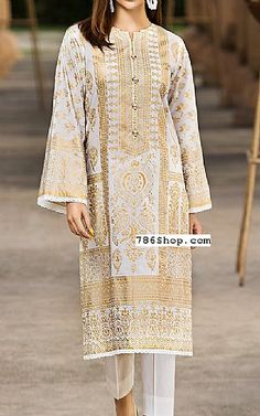 New Image : Pakistani fashion casual Pakistani Fashion Casual, Pakistani Dresses Casual, Pakistani Dresses Online, Pakistani Dress Design, Indian Dresses, Casual Dresses, Fashion Dresses, Fashion Clothes, Off White Wedding Dresses