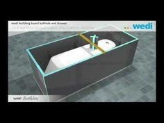 Bouwplaat Voor Badkamer : Wedi i board bouwplaat hangtoilet badkamer toilet ver bouw