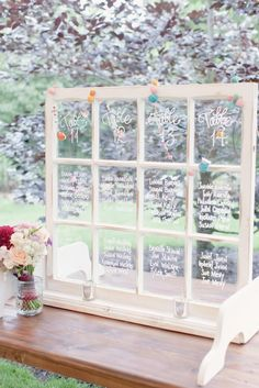 Creative Ideas for Escort Card Table Designs and Seating Charts | Southern New England Weddings | Elisabeth Millay Photography