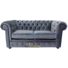 Winchester Chesterfield 2 Seater Fabric Sofa