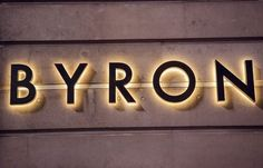 Byron Signage by Charlie Smith Design
