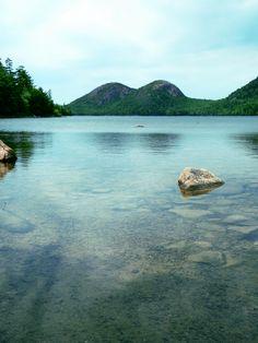 Jordan Pond - Acadia, Maine -