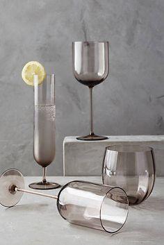 New Dinnerware Sets & Kitchen Essentials Pink Wine Glasses, Kitchen Organisation, Kitchenware, Tableware, Glass Coffee Mugs, Home Design Decor, Kitchen Collection, Bottle Design, Home Decor Kitchen