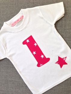Fabulous First Birthday  Personalised Age t by Twolittlepeasandme