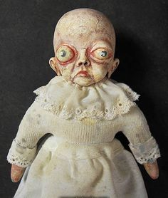 10 Creepiest Dolls Ever - Oddee.com (creepy dolls, scary dolls)