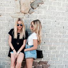 Gigi Hadid & Alli Simpson