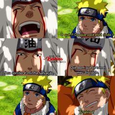 Naruto tem o poder de reconfortar as pessoas ♡