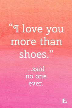 Shoe love is real. Click to shop for more solemates.