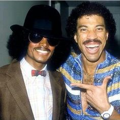 Micheal Jackson and Lionel Richie