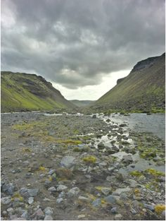 Iceland- Landmannalaugar campsite & surrounding trails