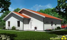 Schwedenhaus SkandiHaus 1-geschossig 121 Satteldach