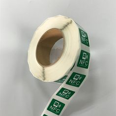 Etiqueta engomada de la NFC : 35x35m Material PVC imprimible NFC Tag etiqueta