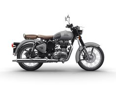 Royal Enfield Classic Gunmetal Grey and Stealth Black Colors gray color enfield - Gray Things Enfield Motorcycle, Enfield Bike, Motorcycle Style, Motorcycle News, Motorcycle Travel, Royal Enfield Bullet, Royal Enfield Classic 350cc, Royal Enfield Wallpapers, Frames