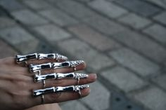 OK, I need to know where I can get these rings. Ultra cool.