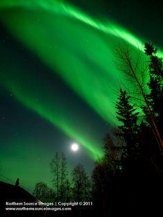 Aurora Borealis, North Pole, Alaska