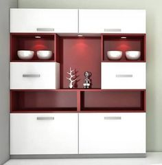 Apartment Living Room Decor Modern Tvs Ideas For 2019 Wood Bar Cabinet, Crockery Cabinet, Wooden Cabinets, Crockery Units, Bedroom Storage Cabinets, Shelves In Bedroom, Display Cabinets, Shelf Display, Closet Bedroom