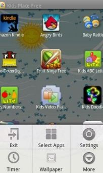 """MOBILE ---  """"Kids Place - Parental Control"""" ---  Android parental controls with child lock that can childproof your device. An app launcher with parental controls & child lock that protects your personal data and restricts kids to apps you have approved."""
