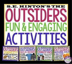 the outsiders creative writing activities The bookrags lesson plan on the outsiders suggests fun classroom activities that get students engaged in the work and its importance.