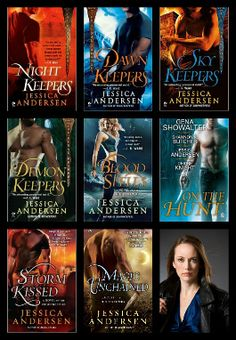 The Nightkeepers series by Jessica Andersen is an exciting and adventure filled series leading up to the Mayan Doomsday. Don't miss our feature this week on Jess, and our interview upcoming with her on April 18th