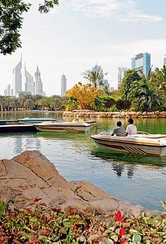 Zabeel Park in Dubai. For cheap flights to Dubai visit Globehunters: http://www.globehunters.com/Flights/Dubai-Flights.htm