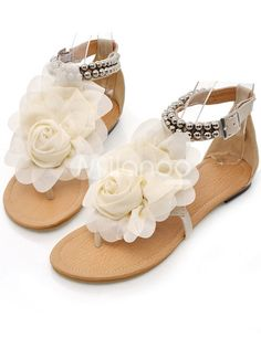 These would be super cute with a short summer dress for the rehersal dinner.