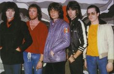 Rainbow 1979 - Ritchie Blackmore, Roger Glover, Don Airey, Cozy Powell and Graham Bonnet.