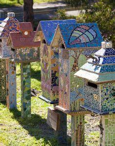 Mosaic letterboxes