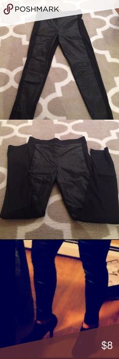 Black tight pants. Great with booties Spandex pants Mudd Pants Leggings