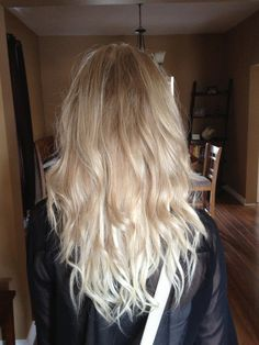 I think I'm going to do a subtle ombre for fall. Get some extensions and let my hair grow til summer