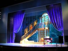 """Dirty Rotten Scoundrels"", another set designed by David Rockwell. Ah, if our Victorian theater only had a tall proscenium"