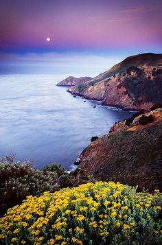 Marin Headlands in California, USA