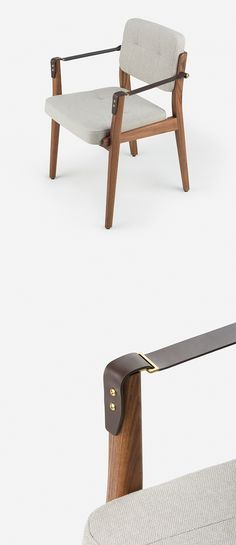 Capo Dining Chair by Neri&Hu #HauteLiving #Neri&Hu #CapoDiningChair…