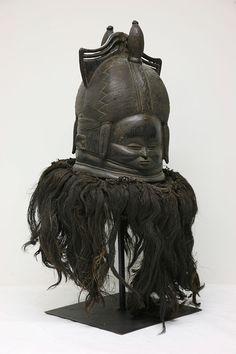 The Childrens Museum of Indianapolis - Sande helmet mask - Art in Sierra Leone