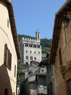 Gubbio, Italy in the Umbria region (photo by Peggy Mooney)
