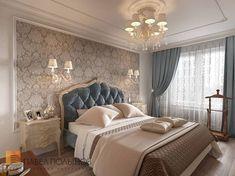 Фото спальня из проекта «Интерьер квартиры в классическом стиле, ЖК «Новомосковский», 60 кв.м.»