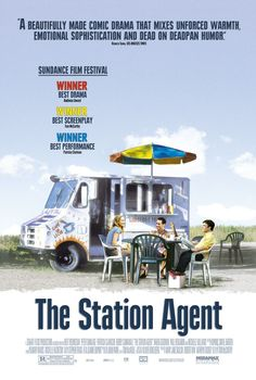 The Station Agent , starring Peter Dinklage, Patricia Clarkson, Bobby Cannavale, Paul Benjamin. When his only friend dies, a man born with dwarfism moves to rural New Jersey to live a life of solitude, only to meet a chatty hot dog vendor and a woman dealing with her own personal loss. #Comedy #Drama