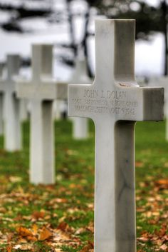 D-Day Cemetery ~ Normandy, France