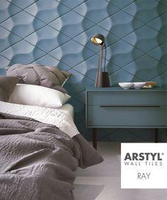 Superieur ARSTYL® Wall Tiles RAY #bedroom Fliesen, Kacheln, Wohnraum,  Innenarchitektur, Tapeten