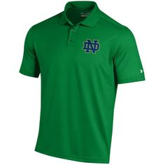 Men's Under Armour Notre Dame Fighting Irish Performance Polo, Size: Medium, Multicolor