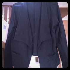 Gap Open-Front Cardigan Black, Gap Open-front cardigan with pockets. GAP Sweaters Cardigans