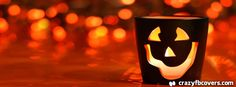 Halloween Candle Facebook Cover Facebook Timeline Cover