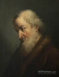 Rembrandt Van Rijn Portrait Of An Old Man oil painting reproductions for sale