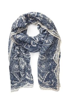 Sheer Paisley Print Scarf | Forever 21 - 1049258845
