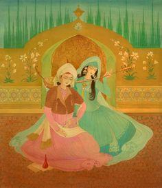 chughtai paintings - Google Search