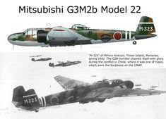Mitsubishi G3M2b Model 22