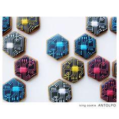 Circuit boards BLOG ノベルティアイシングクッキー