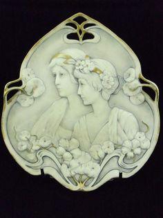 Vide-poche Art Nouveau