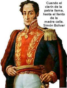 """El libertador Simon Bolivar INTERESANTE DE LA BBC.. El hombre más importante de la historia Bolivar : Datos históricos muy interesantes de la BBC. La BBC elogia y elige a Simón Bolívar. SIMON BOLIVAR """"Con solo 47 años de edad peleó 472 batallas siendo derrotado solo 6 veces. Participó en 79 grandes batallas, con el gran riesgo de morir en 25 de ellas. Liberó 6 naciones, cabalgó 123 mil kilómetros, más de lo navegado por Colón y Vasco de Gama combinado. Fue Jefe de Estado de 5 naciones…"""
